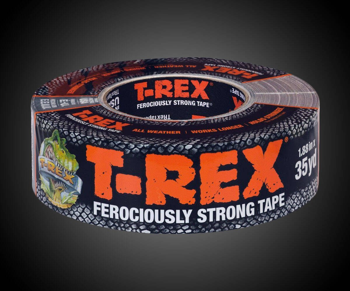 T-Rex Ferociously Strong Tape - http://coolthings.us