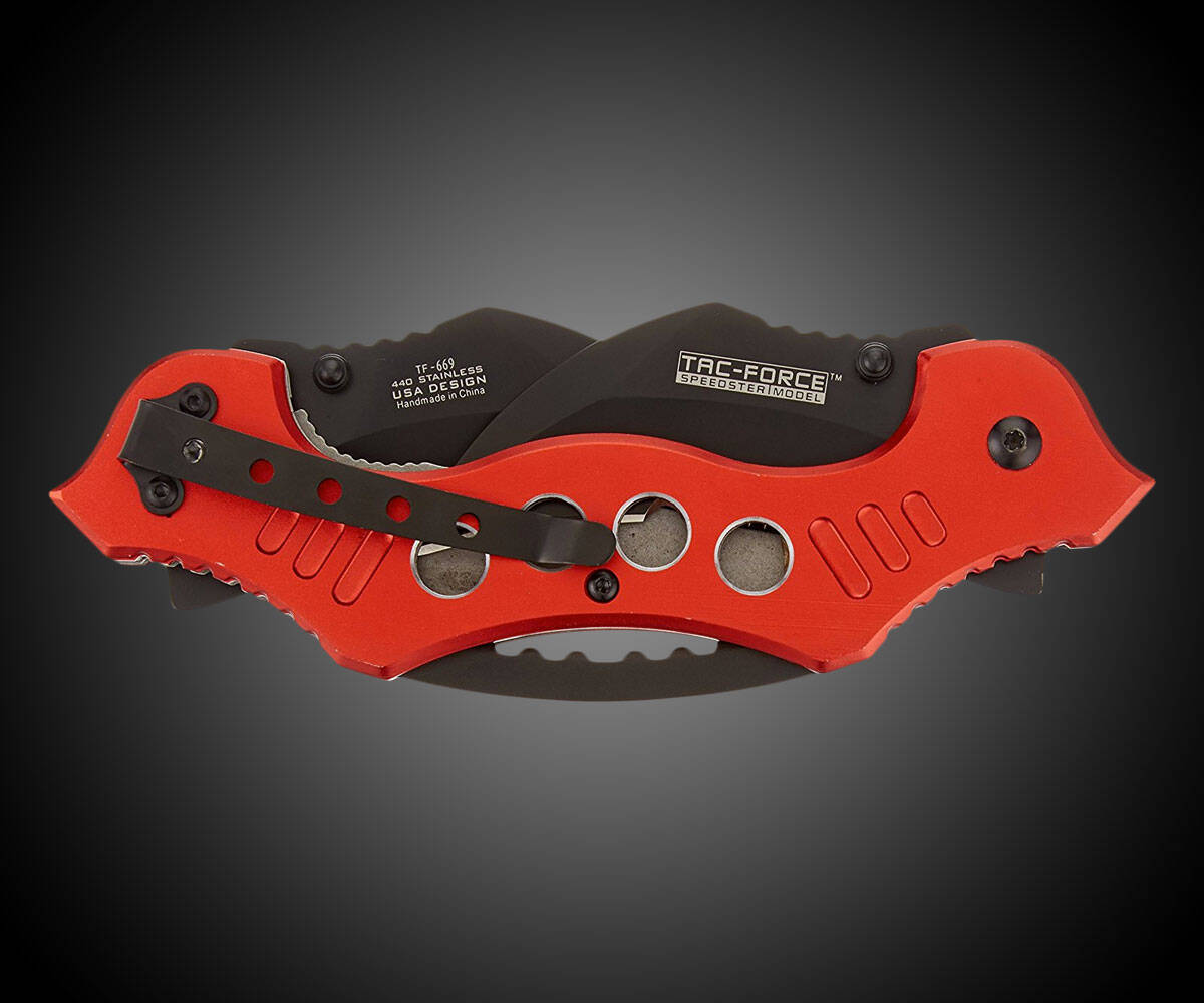 TAC Force Double-Blade Folding Knife - http://coolthings.us