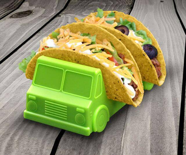 Taco Truck Taco Holder - http://coolthings.us