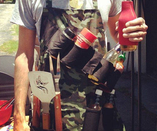 Tactical Camouflage BBQ Apron - http://coolthings.us