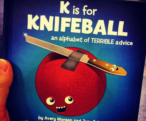 Alphabet Of Terrible Advice Book - http://coolthings.us