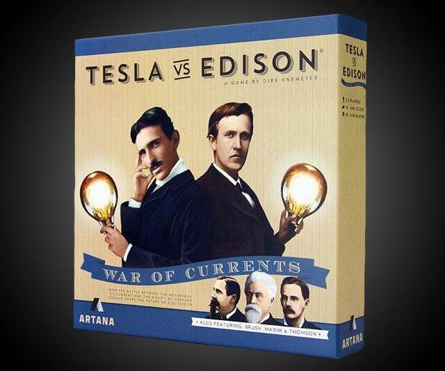 Tesla vs. Edison Board Game - http://coolthings.us