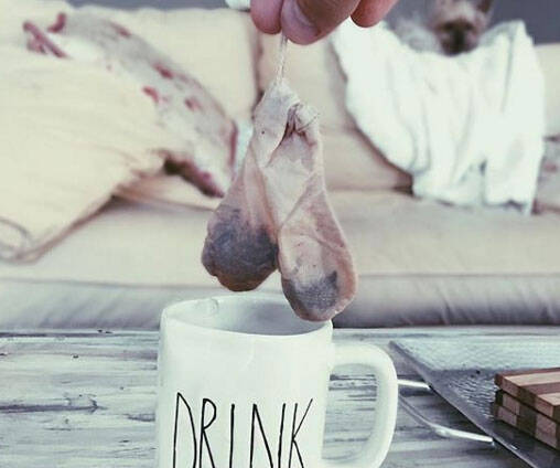 Testicles Tea Bag - http://coolthings.us