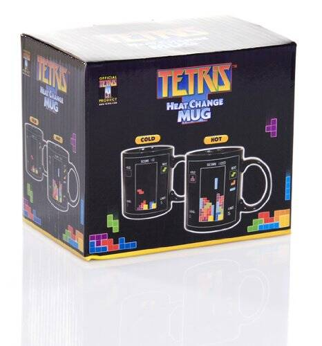 Tetris Color Changing Mug - http://coolthings.us