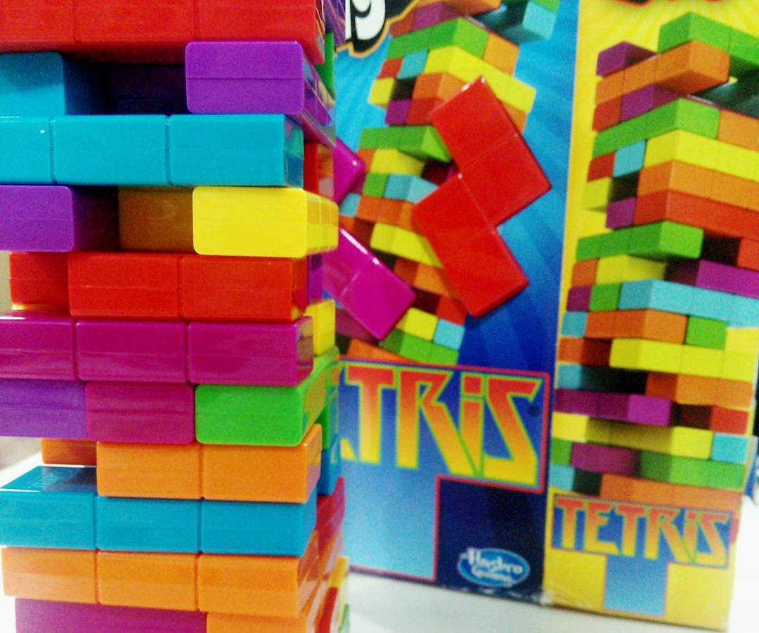 Tetris Jenga - http://coolthings.us