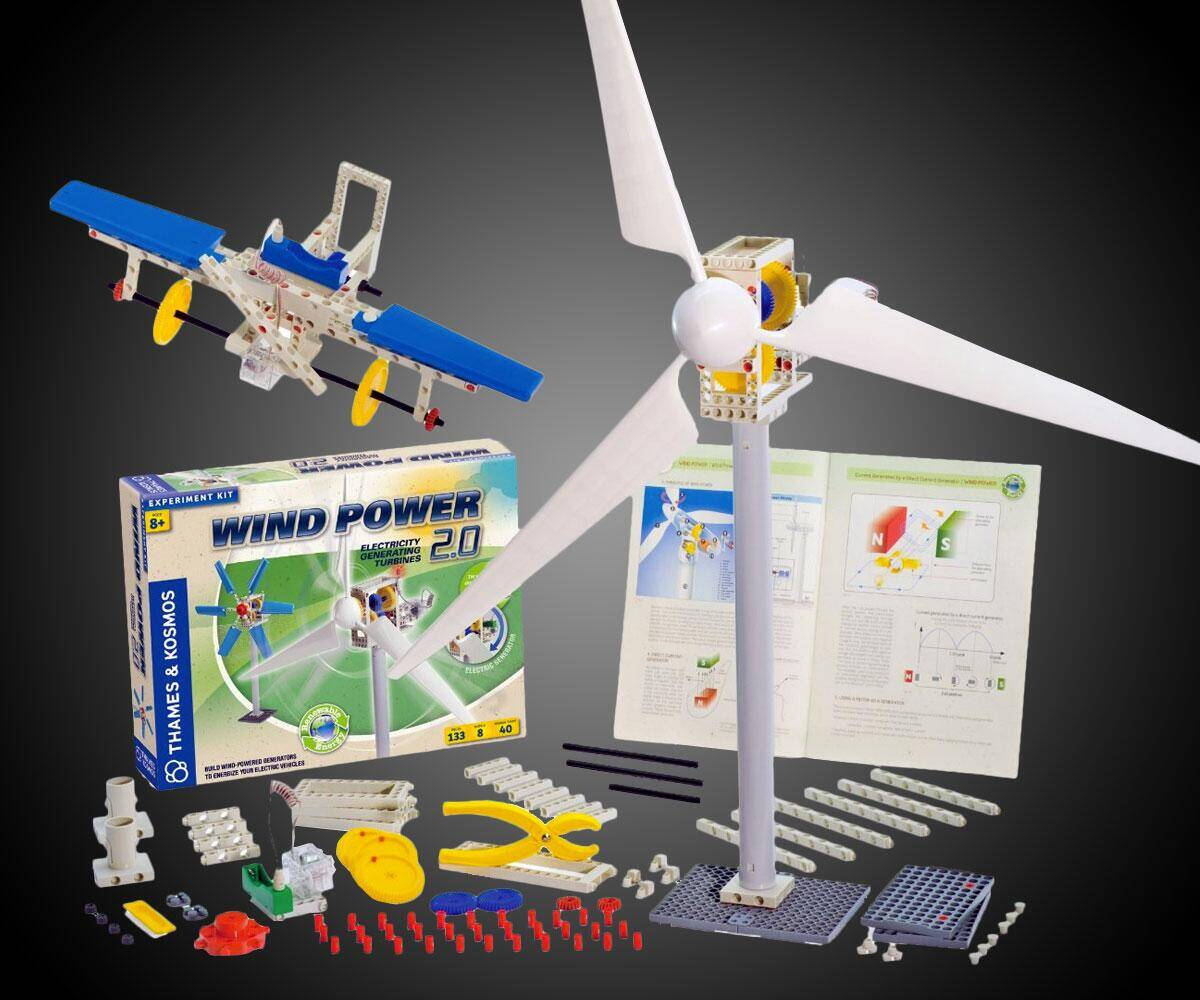 Thames & Kosmos Wind Power 2.0 - http://coolthings.us