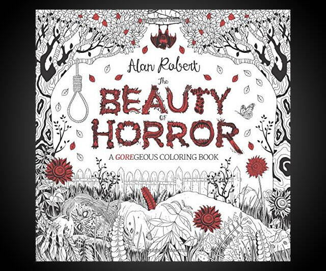 The Beauty of Horror: A GOREgeous Coloring Book - http://coolthings.us
