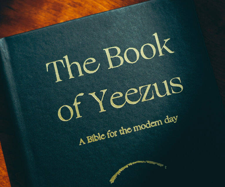 The Book Of Yeezus - http://coolthings.us