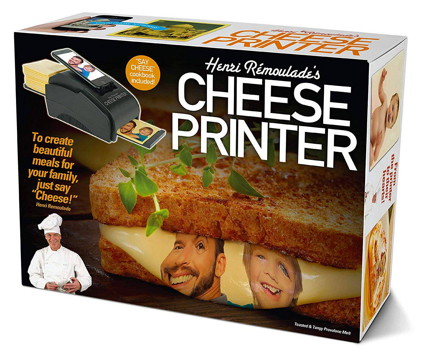 The Cheese Printer - http://coolthings.us