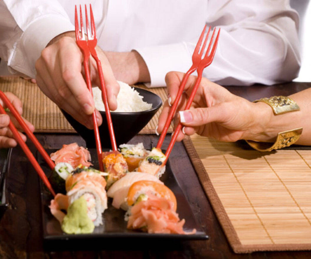 Chork Chopstick Fork - http://coolthings.us