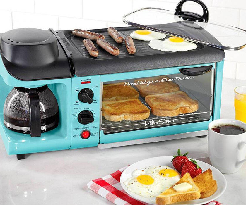 All-In-One Breakfast Cooking Station - coolthings.us