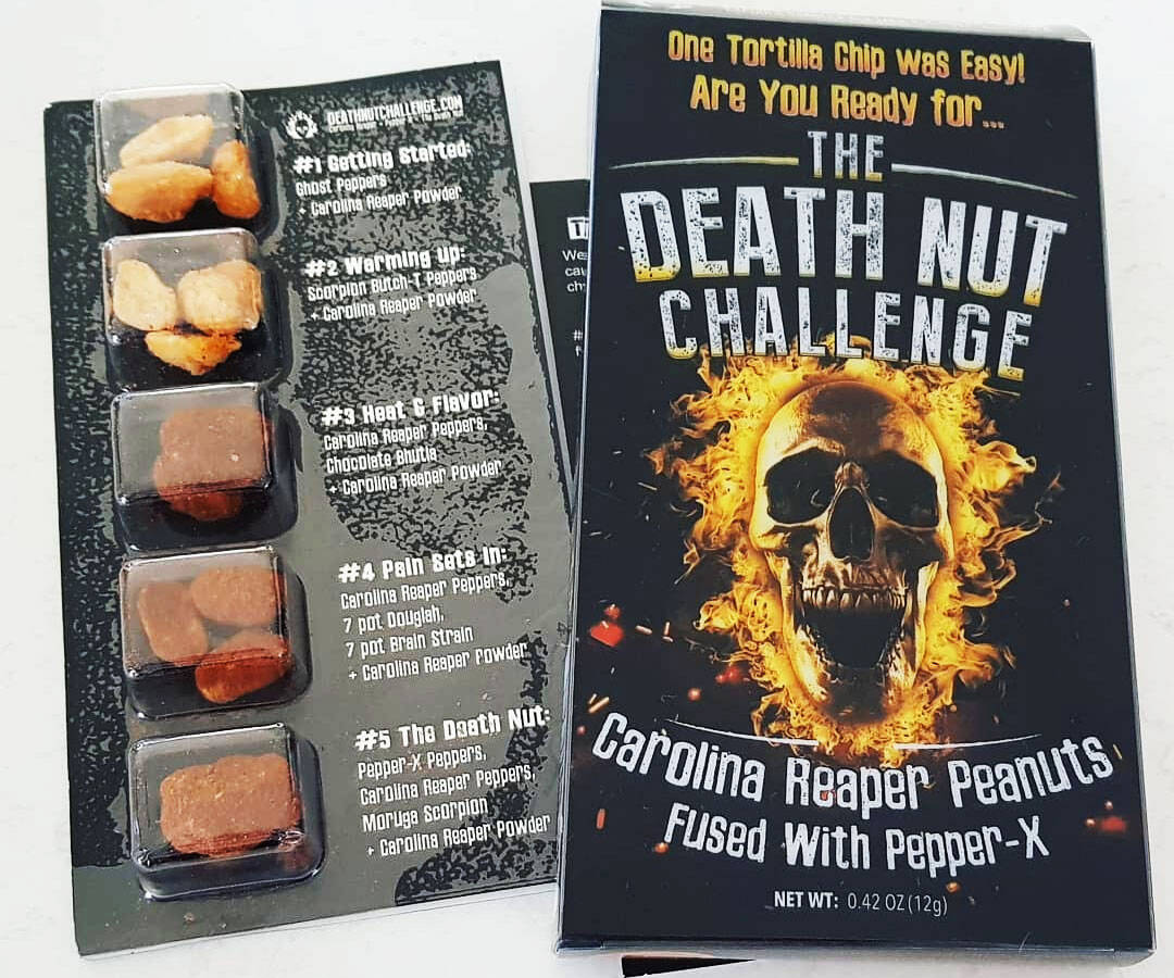 The Death Nut Challenge Version 2.0 - http://coolthings.us