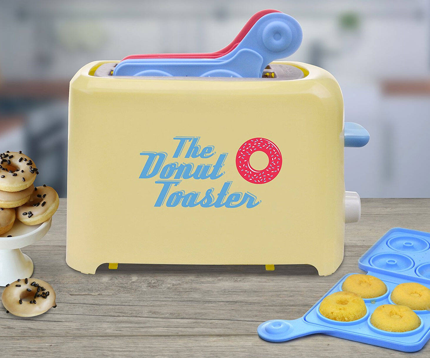 The Donut Toaster - http://coolthings.us