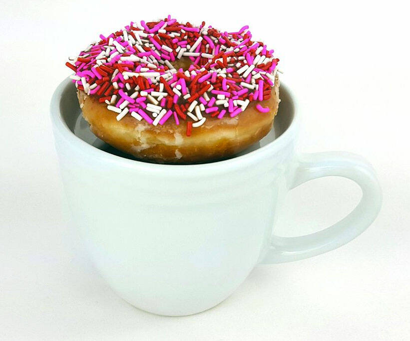 Donut Warming Coffee Mug - http://coolthings.us