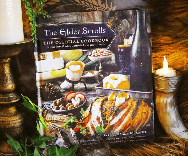 The Elder Scrolls Offical Cookbook - coolthings.us