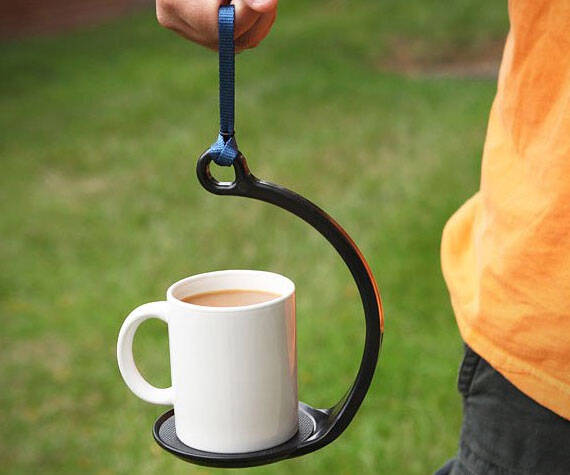 Spill Proof Mug Holder - http://coolthings.us