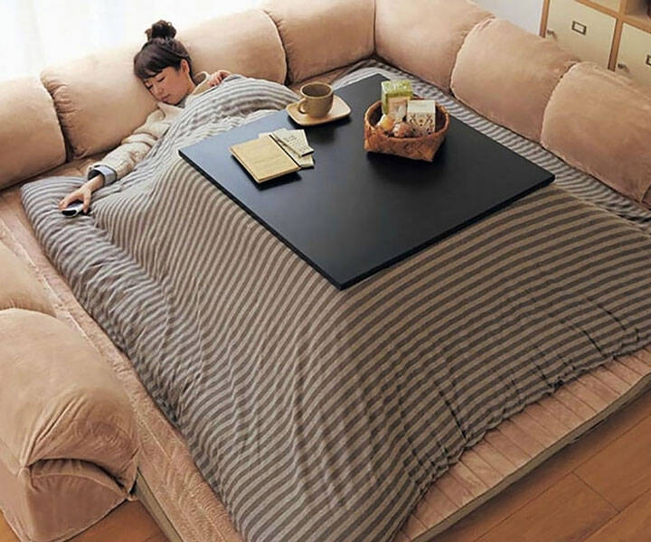 The Kotatsu Heated Table - http://coolthings.us