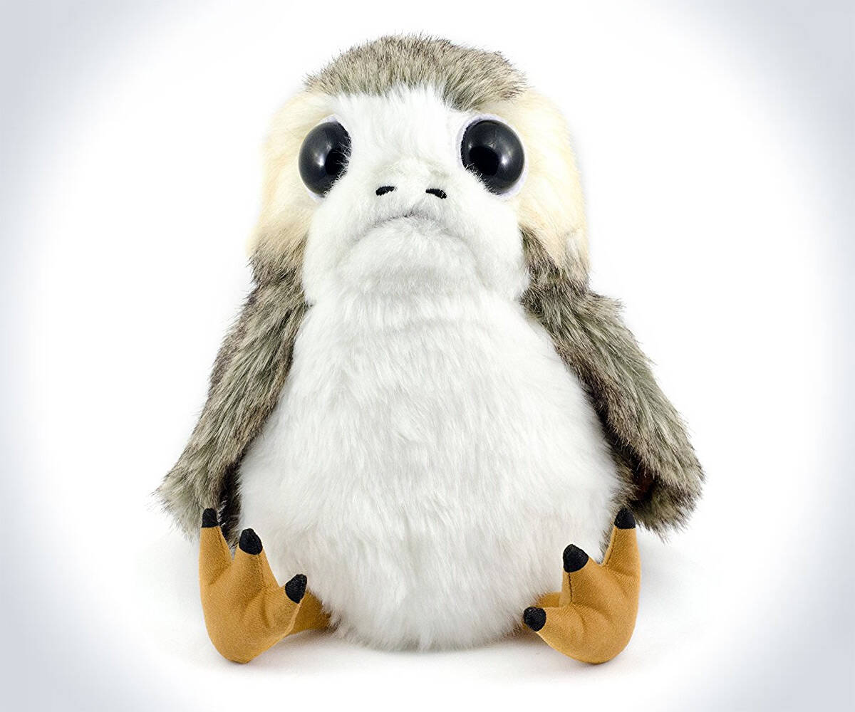 Life-Sized Interactive Porg Plush - http://coolthings.us