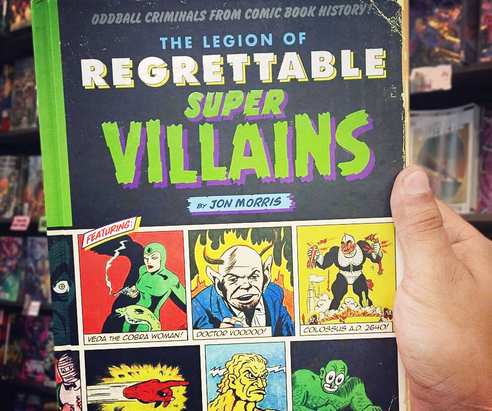 The League of Regrettable Supervillains - http://coolthings.us