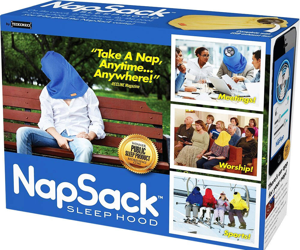 The Nap Sack - http://coolthings.us