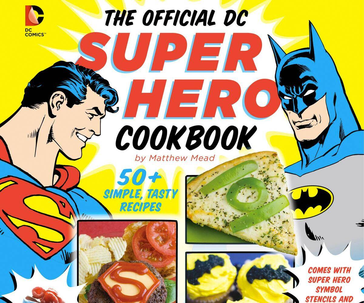 The Official DC Comics Super Hero Cookbook - http://coolthings.us