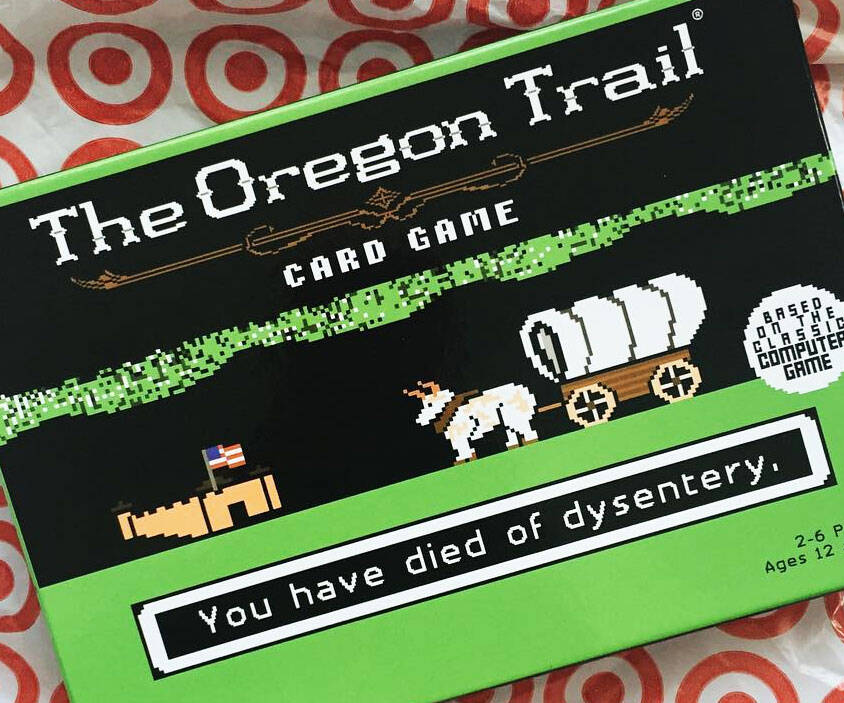 Oregon Trail Board Game - http://coolthings.us