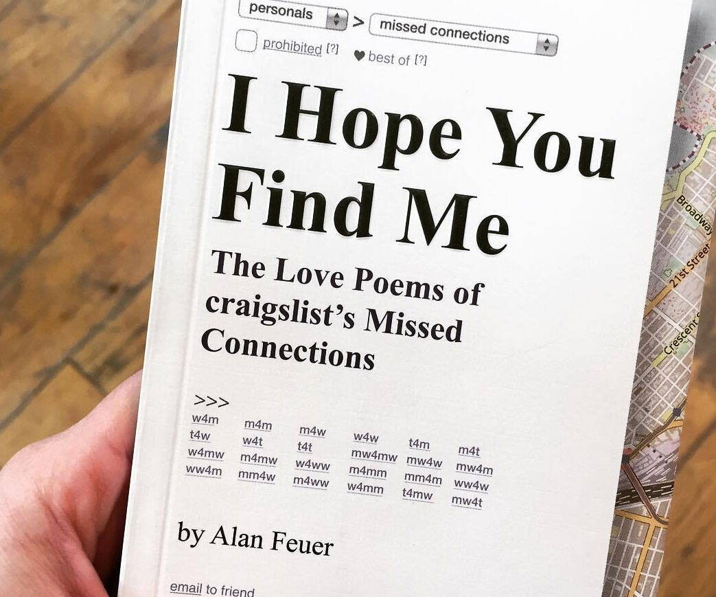Craigslist Missed Connections Love Poems - http://coolthings.us