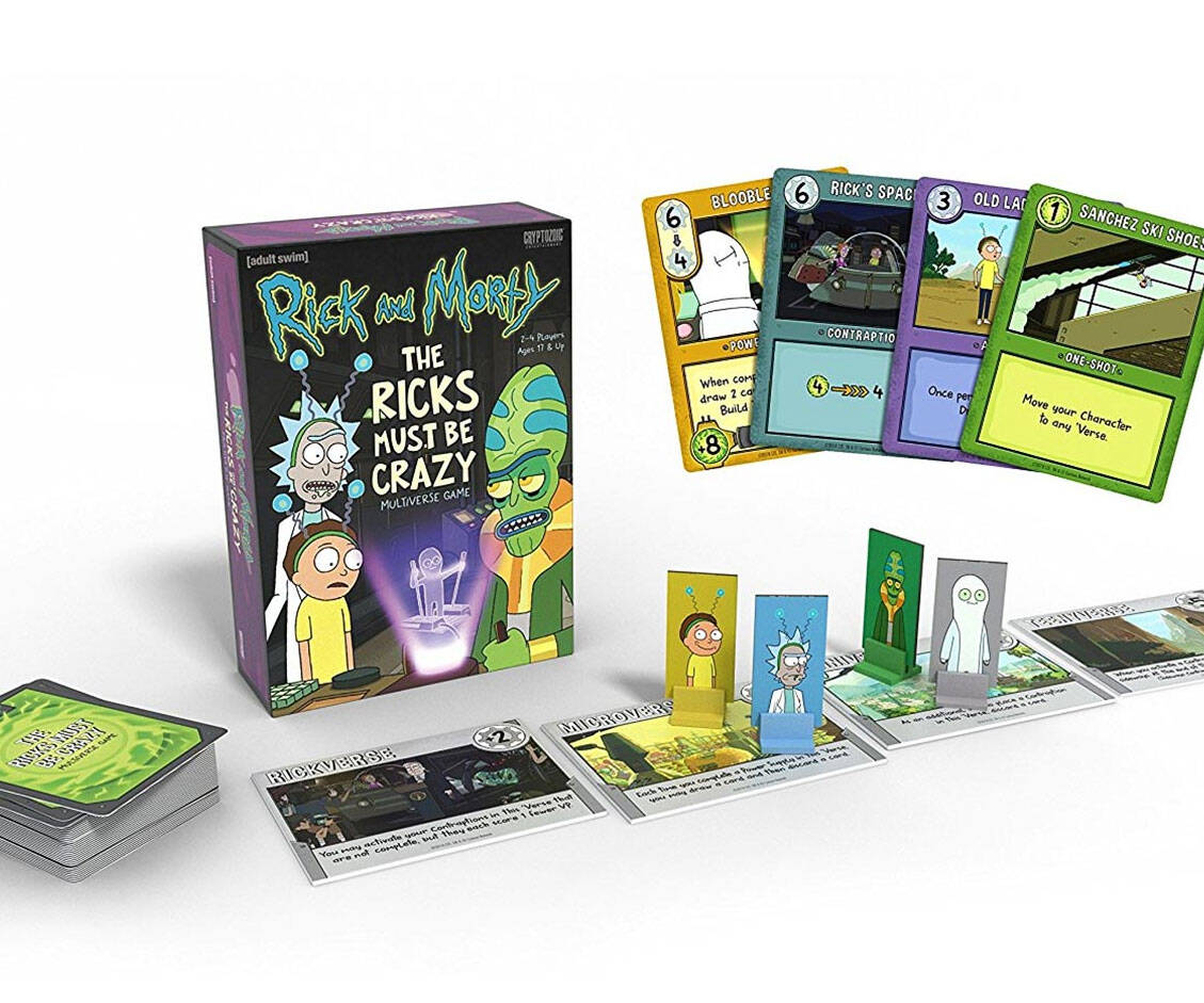 The Ricks Must Be Crazy Multiverse Game - http://coolthings.us