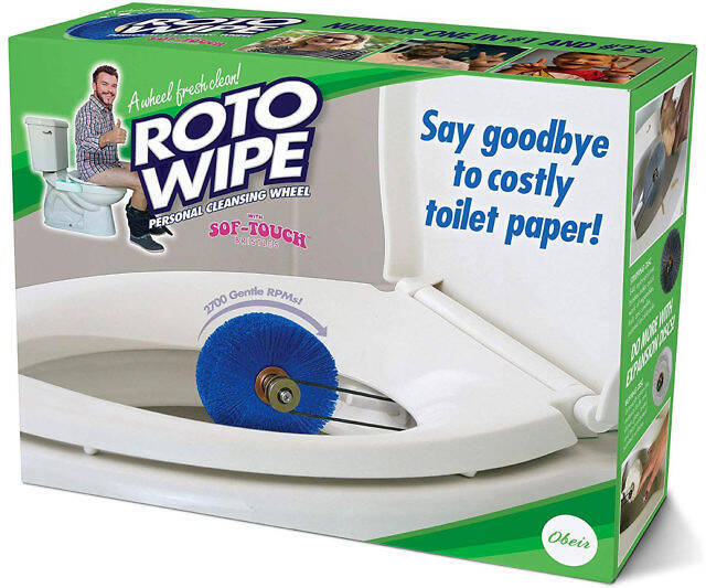 The Roto Wipe - http://coolthings.us