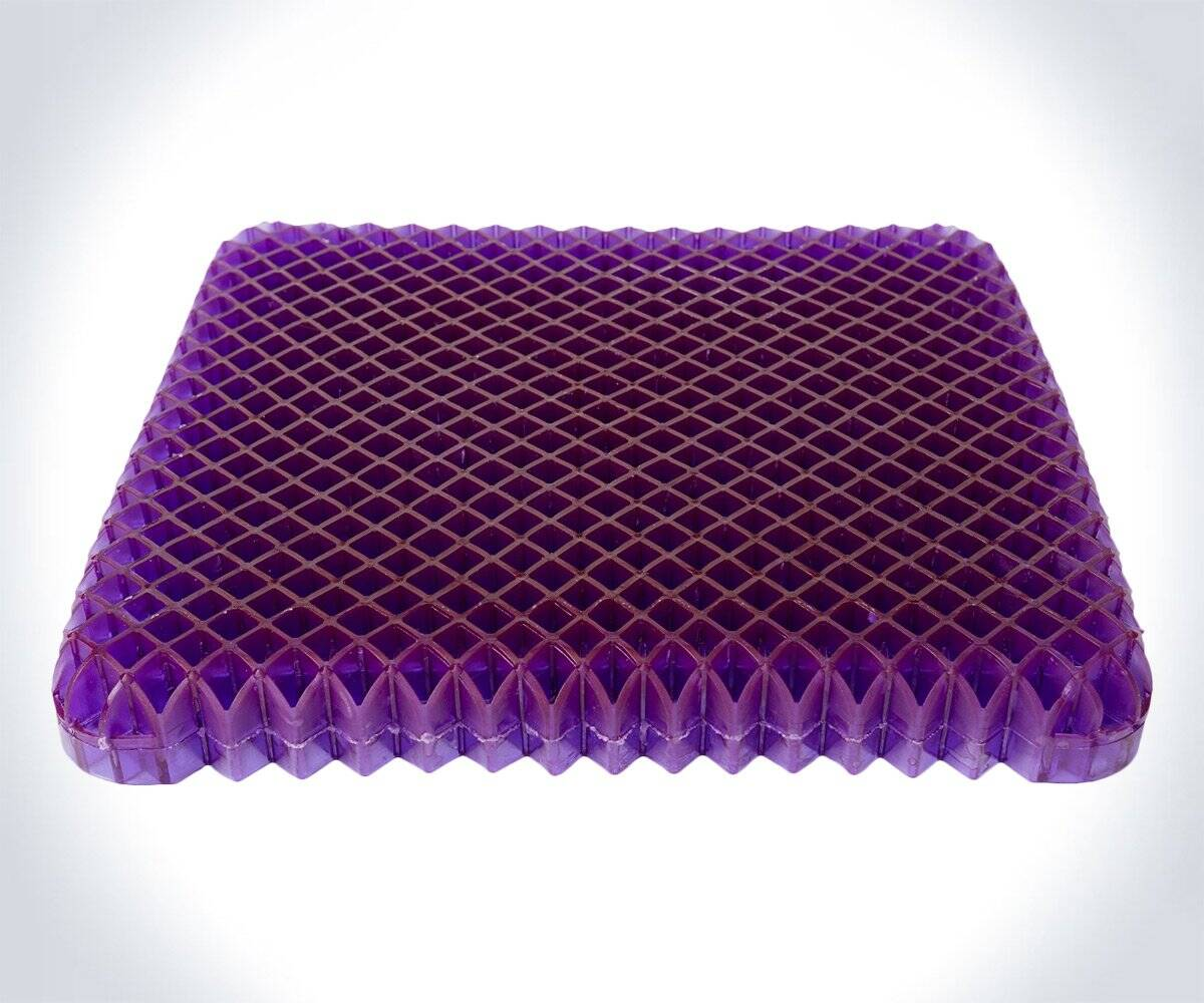 The Royal Purple No-Pressure Seat Cushion - http://coolthings.us