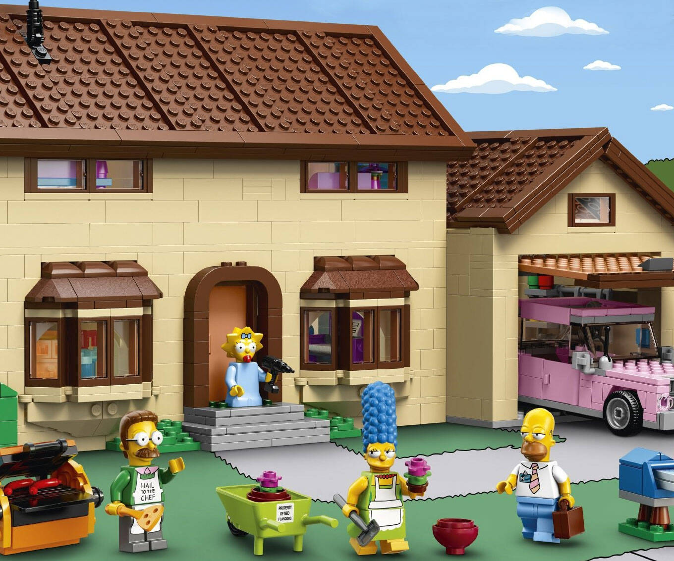 The Simpsons LEGO Set - http://coolthings.us