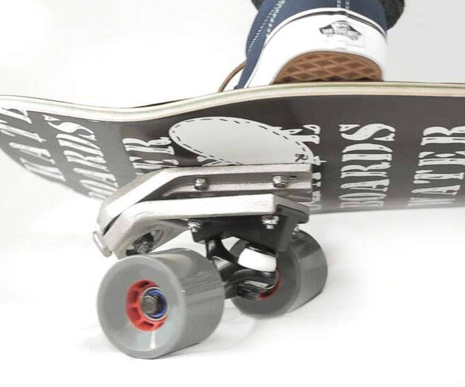 The Skateboard Surf Adapter - http://coolthings.us