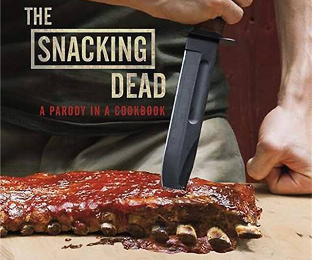 The Snacking Dead: A Parody in a Cookbook - http://coolthings.us