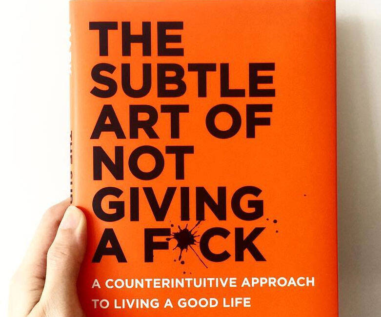 The Subtle Art of Not Giving a F*ck - http://coolthings.us
