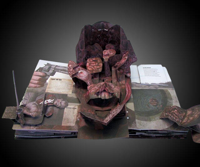 The Walking Dead: The Pop-Up Book - http://coolthings.us
