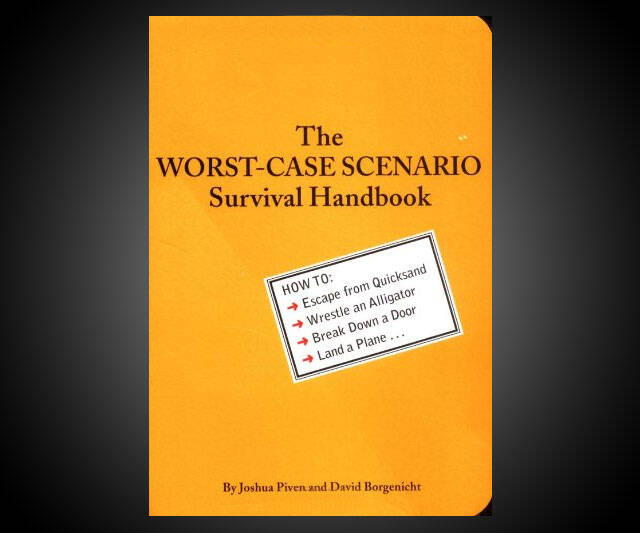 The Worst-Case Scenario Survival Handbook - http://coolthings.us