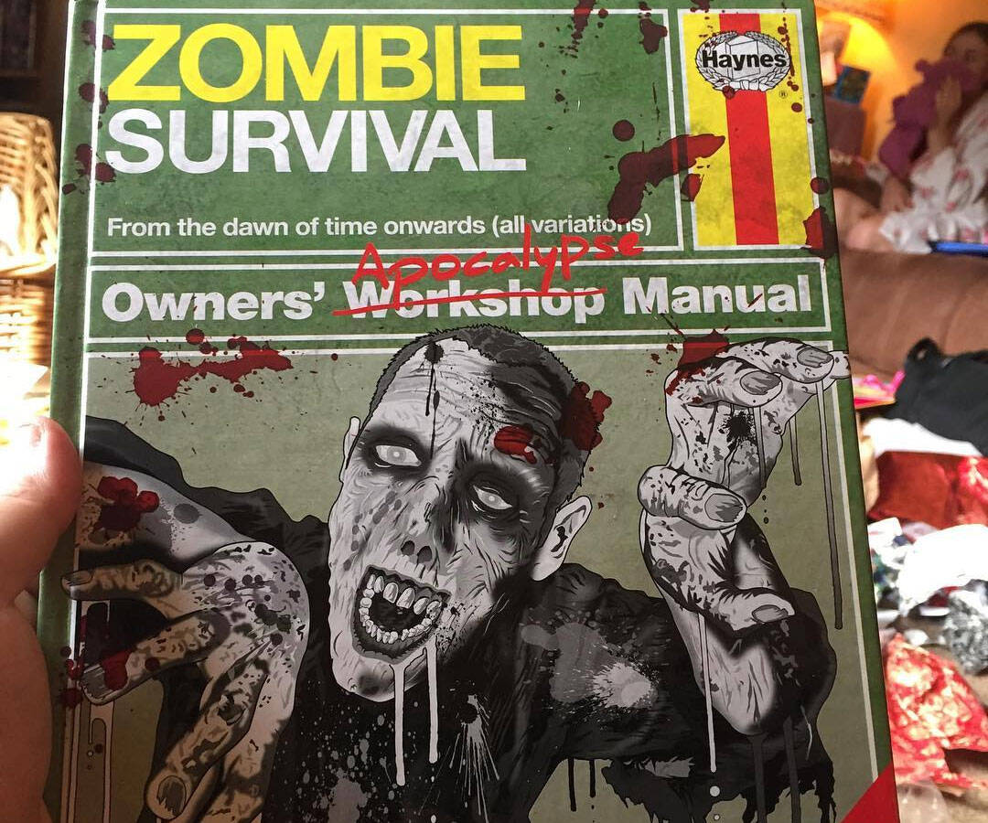 The Zombie Apocalypse Survival Manual - http://coolthings.us