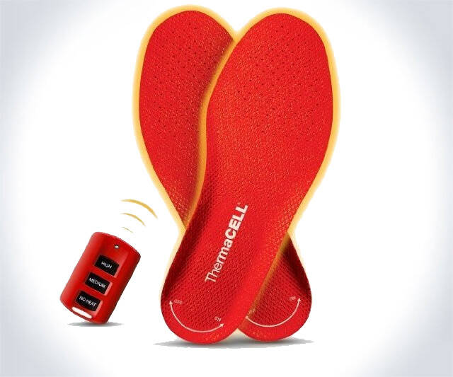 Rechargeable Heated Insoles - http://coolthings.us