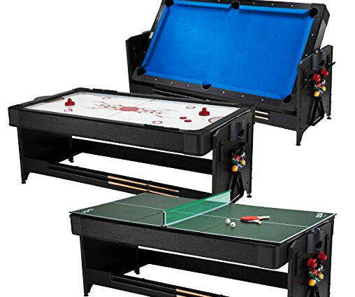 3-In-1 Game Table - http://coolthings.us