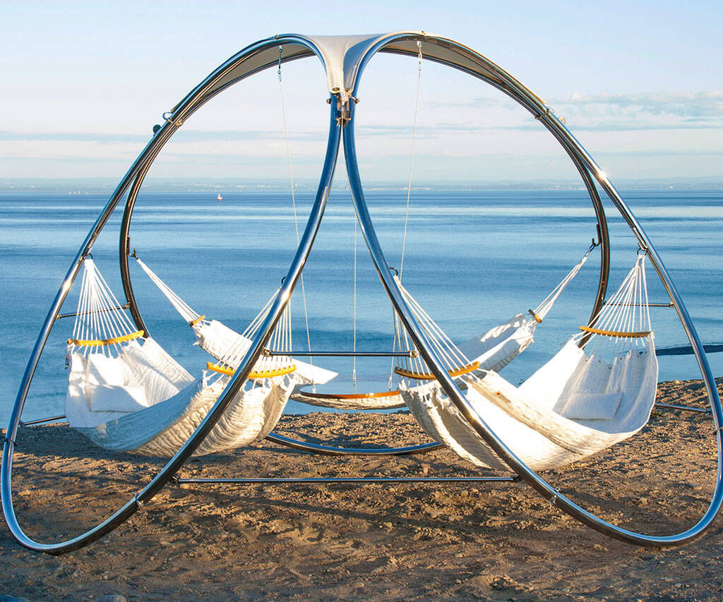 Modern Three Person Hammock - coolthings.us