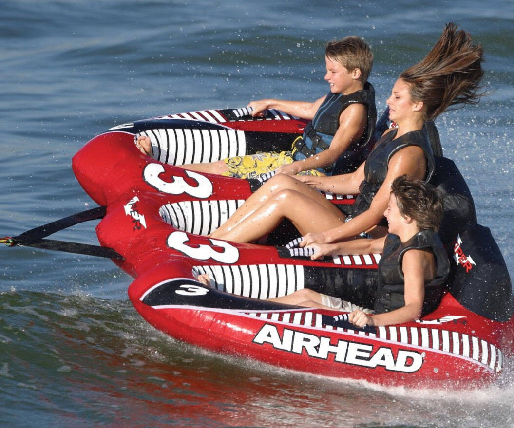 Three Person Towable Inflatable - http://coolthings.us