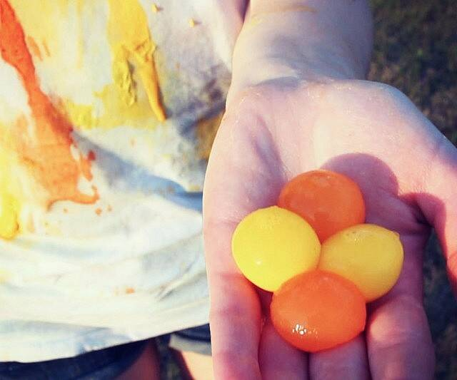 Throwable Paint Balls - coolthings.us