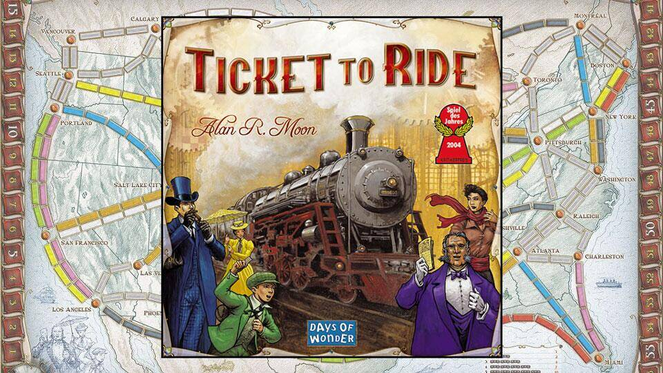 Ticket to Ride Board Game - http://coolthings.us