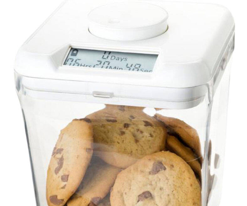 Time Locking Kitchen Container - coolthings.us