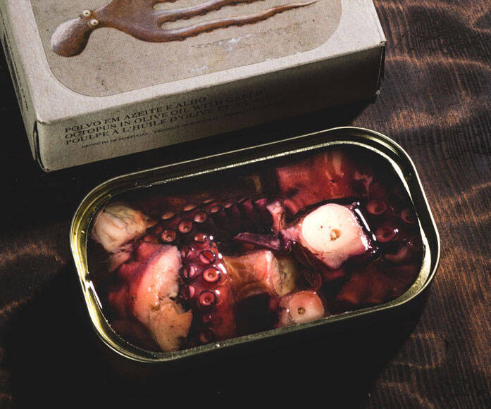 Gourmet Tinned Octopus - coolthings.us