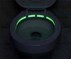 Toilet Illuminating Strips - http://coolthings.us