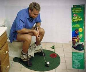 Toilet Mini-Golf - http://coolthings.us