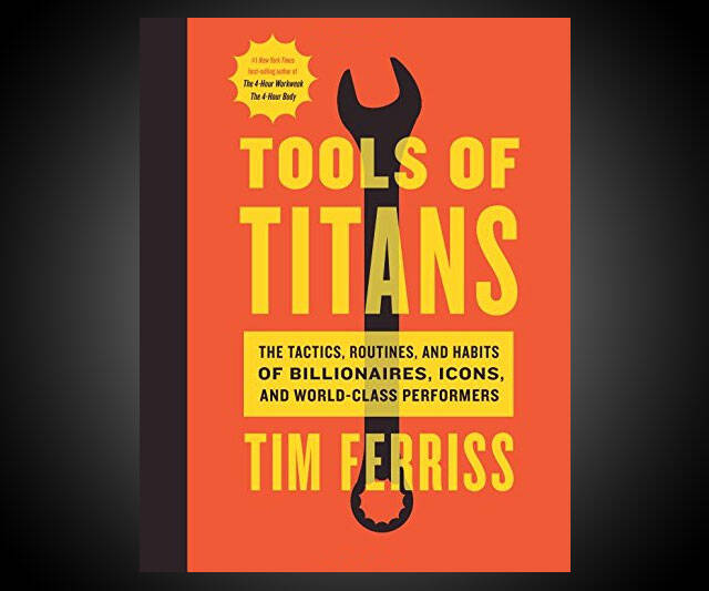 Tools of Titans - http://coolthings.us
