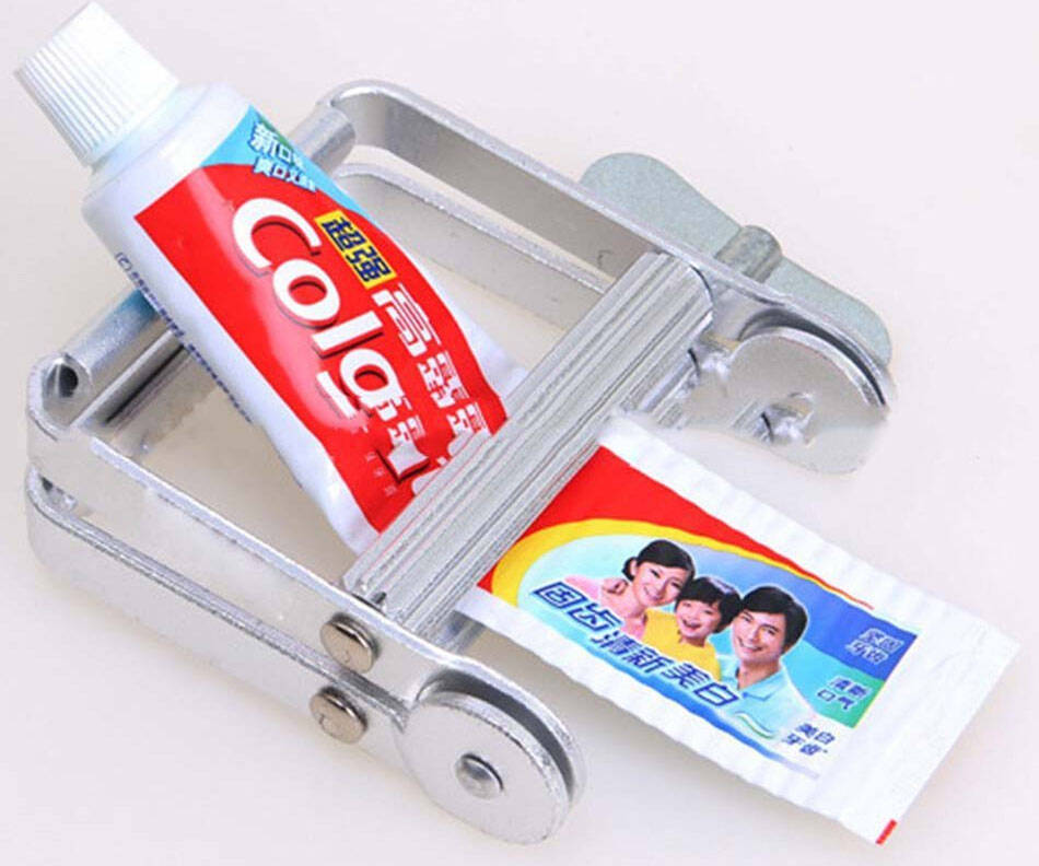 Toothpaste Tube Squeezer - http://coolthings.us