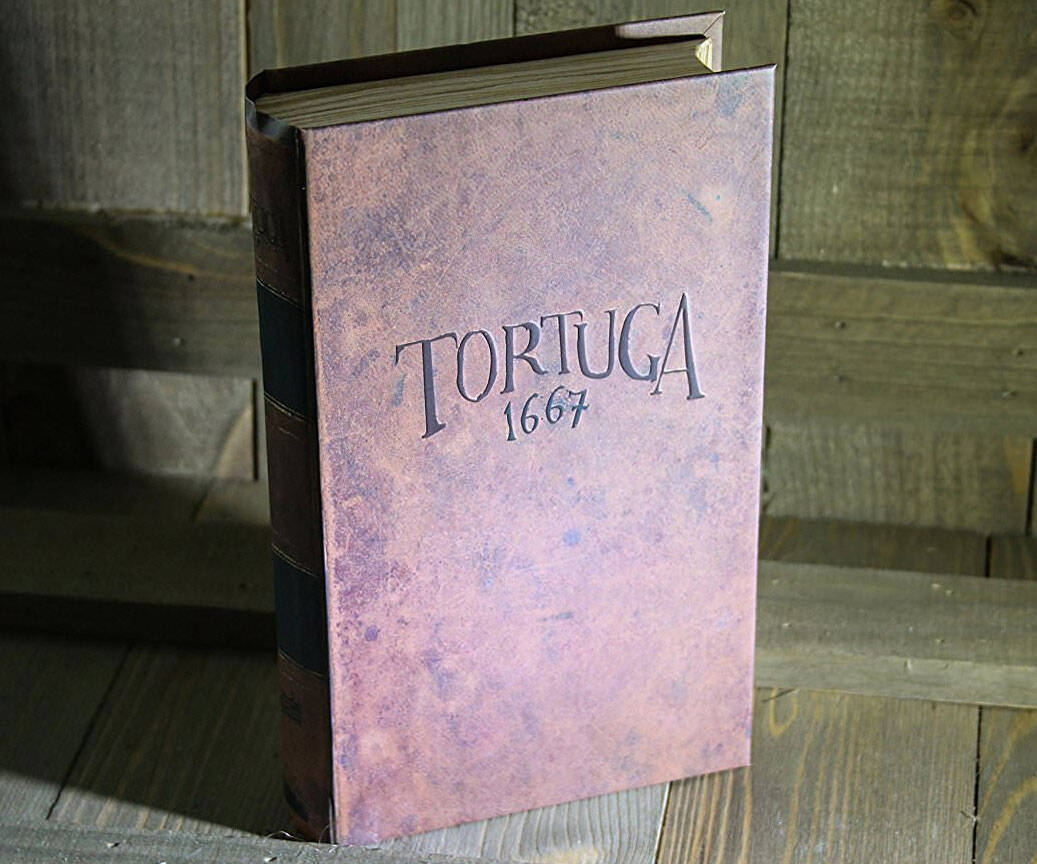 Tortuga 1667 - Pirate Board Game in a Book - http://coolthings.us